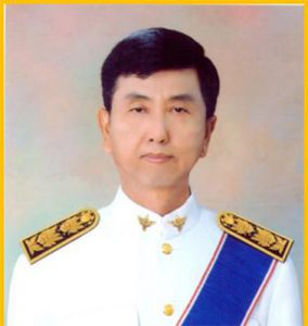 นายแพทย์วิชาญ เกิดวิชัย คณบดีคณะการแพทย์แผนไทยอภัยภูเบศร มหาวิทยาลัยบูรพา จังหวัดชลบุรี